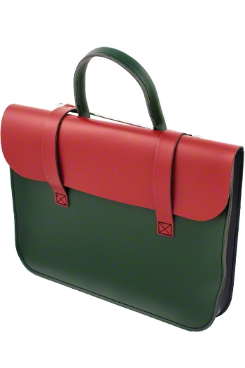 Leather Academy Pattern Music Case - Various Colours additional images 6 1