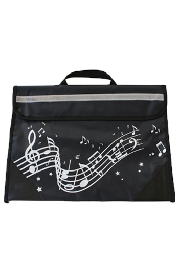 Musicwear Wavy Stave Music Bag - Various Colours additional images 3 3
