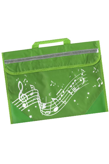 Musicwear Wavy Stave Music Bag - Various Colours additional images 5 3