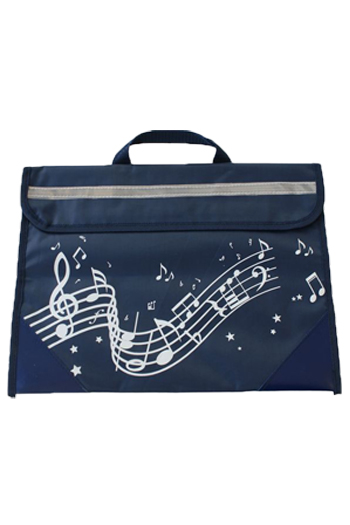 Musicwear Wavy Stave Music Bag - Various Colours additional images 4 2