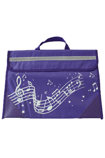Musicwear Wavy Stave Music Bag - Various Colours additional images 5 1