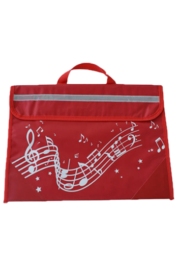 Musicwear Wavy Stave Music Bag - Various Colours additional images 5 2