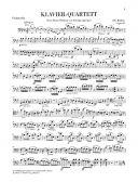 Piano Quartet G Minor Op25: String and Piano: String Quartet additional images 2 1