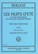 Les Nuits Dete: Op7: High Voice and Pian: French and English (Procter-Gregg) additional images 1 1
