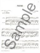 Pavane: Op50: Flute Or Violin & Piano (Leduc) additional images 1 2
