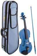Stentor Harlequin Blue Violin Outfit - Various Sizes additional images 1 1
