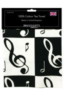 Tea Towel - Music Notes additional images 1 1