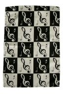 Tea Towel - Music Notes additional images 1 2