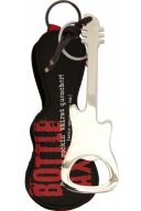Guitar Bottle Opener With Gig Bag - Silver additional images 1 1