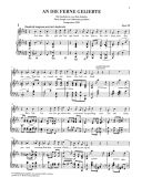 An Die Ferne Gelibte: Vocal & Piano (High) additional images 1 2