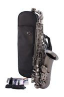 Trevor James Classic Alto Sax - Black Nickel Frosted Finish additional images 1 1