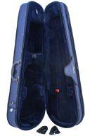 Stentor Shaped Viola Case - Blue additional images 1 3