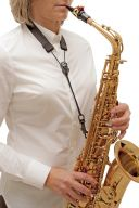 BG SFSH FLEX Saxophone Strap With Snap Hook additional images 1 3