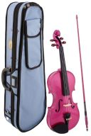 Stentor Harlequin Raspberry Pink Violin Outfit  Various Sizes additional images 1 1