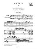 Macbeth Opera Vocal Score (Ricordi) additional images 1 2