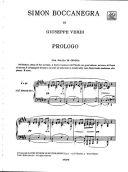 Simon Boccanegra: Opera Vocal Score (Ricordi) additional images 1 2