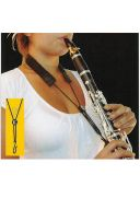 BG C90E Clarinet Strap: Elasticated  With Foam additional images 1 1