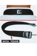 BG C90E Clarinet Strap: Elasticated  With Foam additional images 1 2