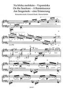 On The Seashore: Concert Etude In C Major: Piano Solo  (Barenreiter) additional images 1 2