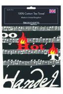 Tea Towel - Too Hot To Handel additional images 1 2