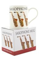Little Snoring: Music Word Mug - Saxophone additional images 1 2