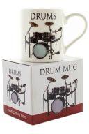 Little Snoring: Music Word Mug -  Drums additional images 1 2