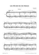 Les Pecheurs De Perles: Opera In 3 Acts Vocal Score (Peters) additional images 1 2