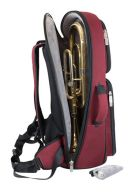 Tom And Will 26TH Black & Burgundy Tenor Horn Gig Bag additional images 2 2