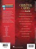 Christmas Carols - Flute: 10 Holiday Favourites Book & Audio Access additional images 1 2