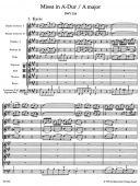 Mass A Major BWV 234