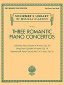 Three Romantic Piano Concertos: Greig/Schuman/Rachmaninoff (Schirmer) additional images 1 1