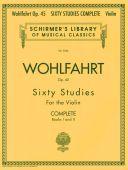 60 Studies, Op. 45 Complete Violin (Schirmer) additional images 1 1