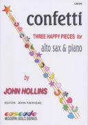 Confetti: Three Happy Pieces For Alto Sax & Piano (Hollins) additional images 1 1