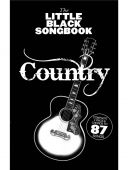 Little Black Songbook: Country: Lyrics & Chords additional images 1 1
