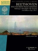Five Favorite Piano Sonatas (Schirmer) additional images 1 1