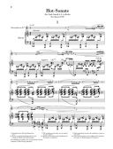 Hot-Sonata : Alto Saxophone & Piano (Henle) additional images 1 2