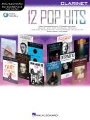 Instrumental Play-along:  12 Pop Hits: Clarinet: Book & Download additional images 1 1