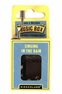 Hand Crank Music Box: Singing In The Rain additional images 1 1