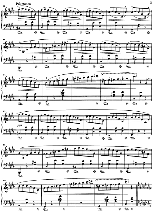 E Book Classical Sheet Music Waltz Opus 64 No 2 In C