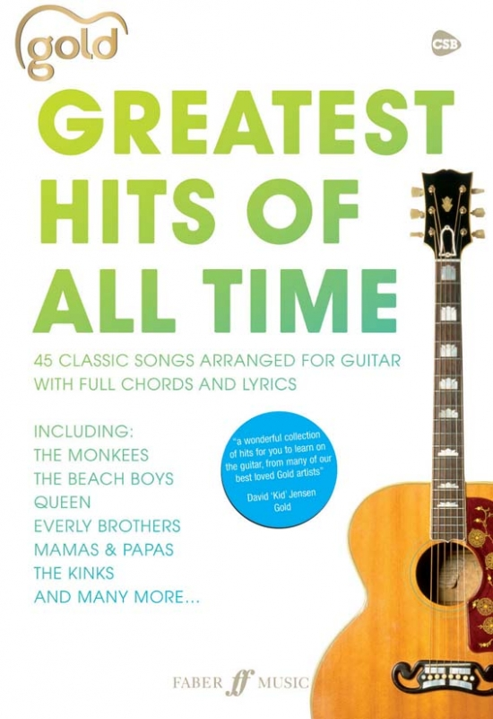 Gold Greatest Hits Of All Time: Words And Chords