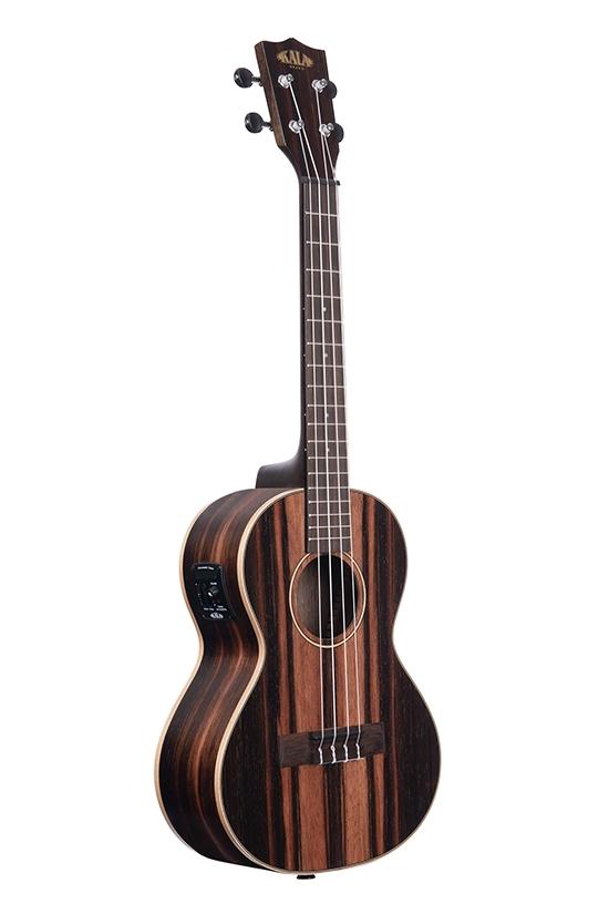 kala ka eby te ebony striped tenor acoustic electric ukulele. Black Bedroom Furniture Sets. Home Design Ideas