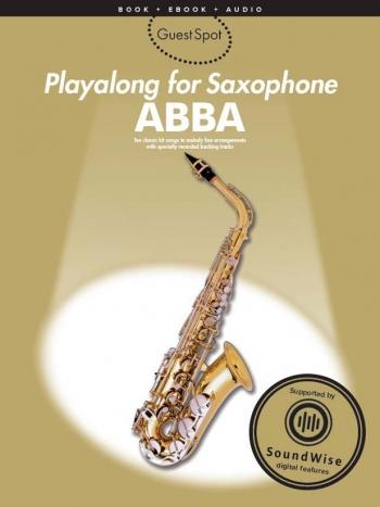 Guest Spot: Abba: Alto Sax: Book & CD