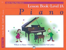 Alfred Basic Piano Lesson Book: Level 1A