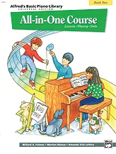Alfred Basic Piano All In One Course: Level 2: Piano