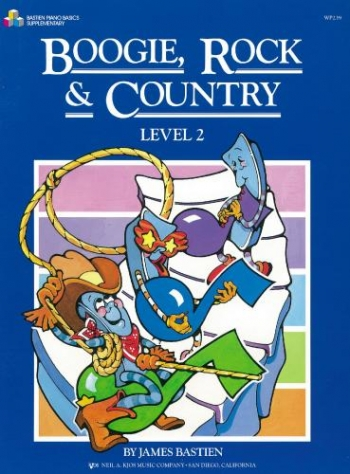 Bastien Boogie Rock And Country: Level 2: Piano