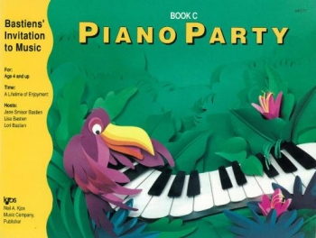 Bastiens Invitation To Music: Piano Party Book C