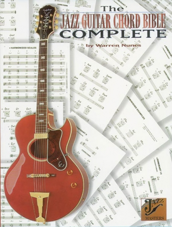 Jazz Guitar Chord Bible Complete: Guitar Chords