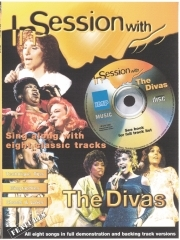 In Session With The Divas: Piano Vocal Guitar: Female Voice: Bk&cd