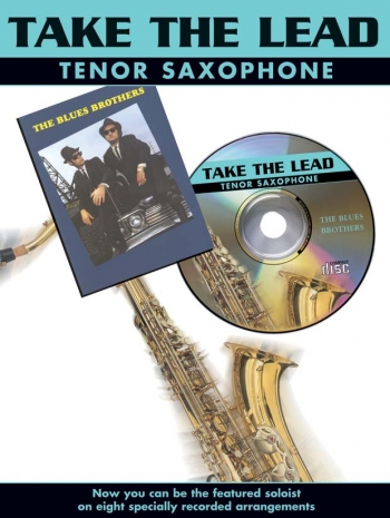 Take The Lead: Blues Brothers: Tenor Sax: Book & CD