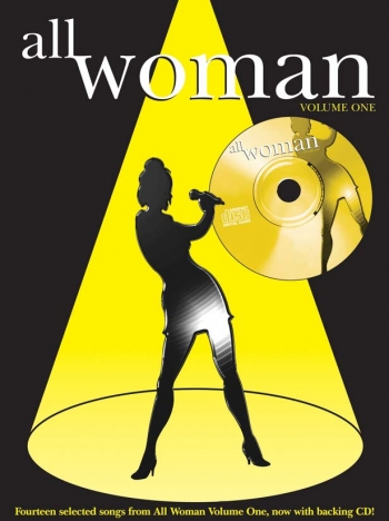 All Woman: 1: Piano Vocal Guitar: Bk&cd